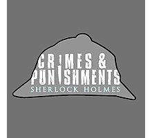 sherlock's Hat Photographic Print