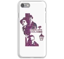 Sherlock Grapess colours iPhone Case/Skin