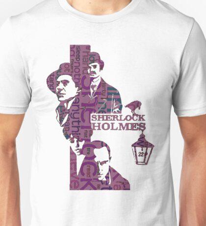 Sherlock Grapess colours Unisex T-Shirt