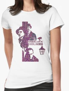 Sherlock Grapess colours Womens Fitted T-Shirt