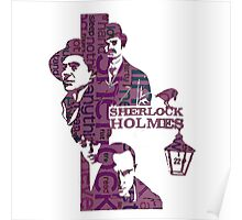 Sherlock Grapess colours Poster