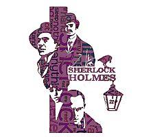 Sherlock Grapess colours Photographic Print