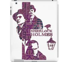 Sherlock Grapess colours iPad Case/Skin