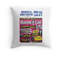 Motortown Review Throw Pillow