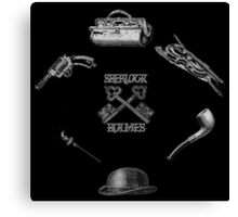 Sherlock Holmes  Tools Canvas Print