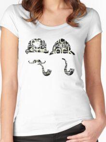 Sherlock twins? Women's Fitted Scoop T-Shirt