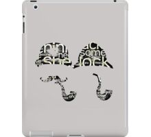 Sherlock twins? iPad Case/Skin