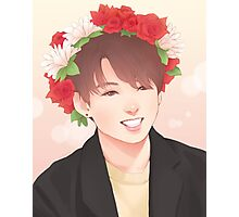 Flower Boy Jungkook Photographic Print