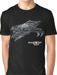 Star Citizen - Hornet Blueprint Graphic T-Shirt