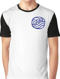 Water Tribe Symbol (Dark Blue) Graphic T-Shirt
