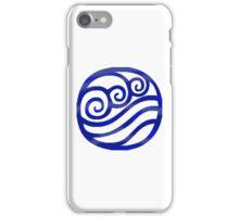 Water Tribe Symbol (Dark Blue) iPhone Case/Skin