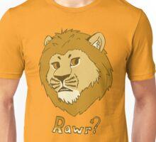 Rawr?  -  Lion Unisex T-Shirt