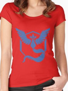 Team Mystic Pokemon Go Women's Fitted Scoop T-Shirt