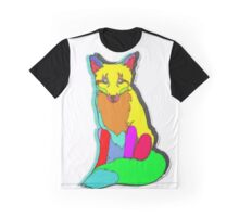 FOX PIXEL Graphic T-Shirt