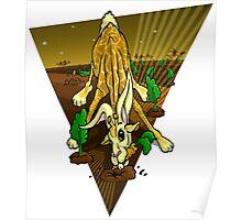 Mutant Zoo - Girabbit Poster