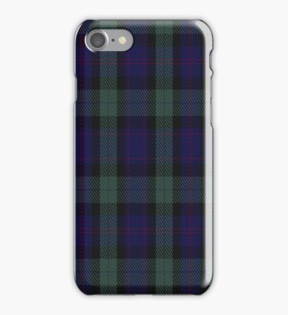 02130 The Woolmark Plaid Tartan  iPhone Case/Skin