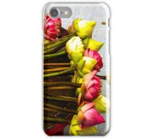Temple offerings, Chiang Mai, Thailand iPhone Case/Skin
