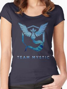 Pokemon Go - Team Mystic Women's Fitted Scoop T-Shirt