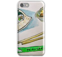 North Hobart Sushi iPhone Case/Skin