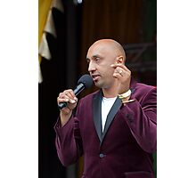 Adil Ray A presenter from the BBC's Asian Network In celebration of the end of Ramadan Photographic Print