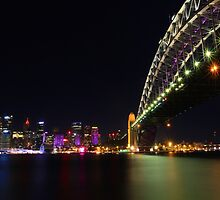 Sydney City & Bridge by Andrew Felton