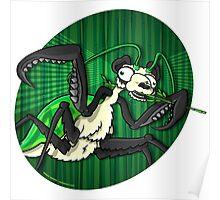 Mutant Zoo - Panda Mantis Poster