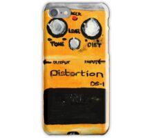 Distortion Pedal Guitar Pedal Original Art iPhone Case/Skin