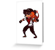 Pokemon Go - Team Voltron! - Keith Greeting Card