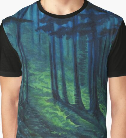 Lovely, Dark, and Deep Graphic T-Shirt