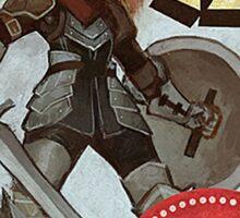 Swords and Shields Sticker