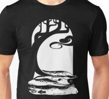 Woodland Stream (White) Unisex T-Shirt