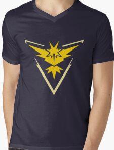 Team Instinct Logo (Pokémon GO) Mens V-Neck T-Shirt