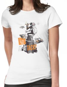 AT-ATTACK! Womens Fitted T-Shirt