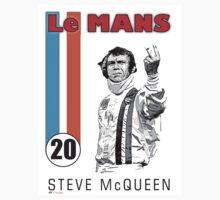 LeMans Steve McQueen by Pamsmile