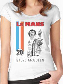 LeMans Steve McQueen Women's Fitted Scoop T-Shirt