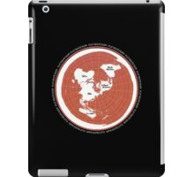 Flat Earth Maps iPad Case/Skin