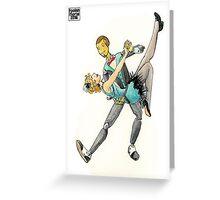 Electromatic Swing Greeting Card