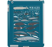 A SEA FULL OF CETACEANS: WHALES, DOLPHINS, AND PORPOISES iPad Case/Skin