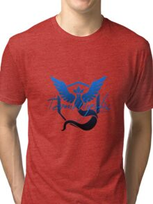 Team Mystic WV Logo (Dark) Tri-blend T-Shirt