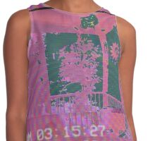 Back porch in pink Contrast Tank