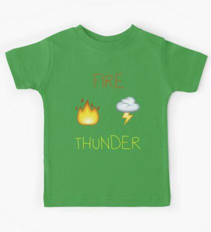 Fire Thunder Kids Tee