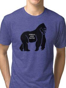 Harambe - Gorilla Tri-blend T-Shirt