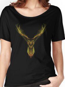Deer Hologram Women's Relaxed Fit T-Shirt