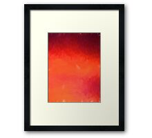 Fabulous Sunset Framed Print