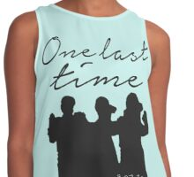 One Last Time Contrast Tank