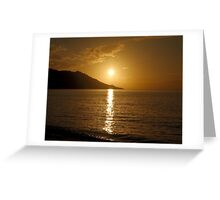 Sun Steps Greeting Card