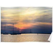 Sail beyond the sunset Poster