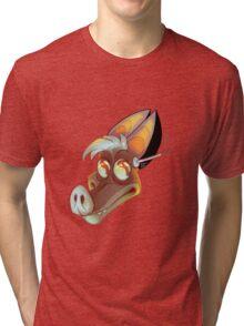batty koda Tri-blend T-Shirt