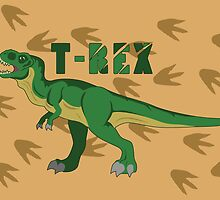 T-REX by thekohakudragon