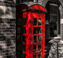 The Red Phone Booth by Deborah McGrath